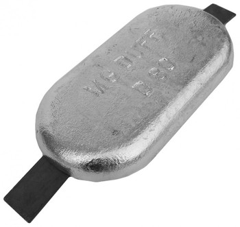 MGDuff ZD80 Zinc Anode 356mm Weld On