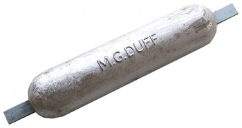 MG Duff Weld On Hull Anode MD72 - Magnesium