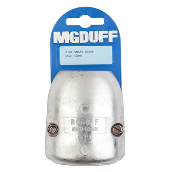 MGDuff MGD Zinc Shaft Anode with Core  40mm