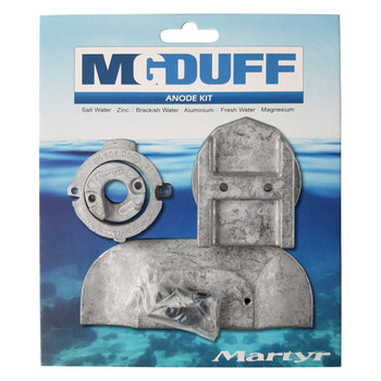 MG Duff Mercury / Mercruiser Alpha 1 Generation 2 Engine Anode Kit CMALPHAKITA - Aluminium