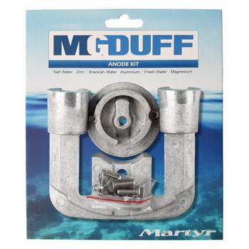 MG Duff Mercury / Mercruiser Bravo 1 Engine Anode Kit CMBRAVO1KITA - Aluminium