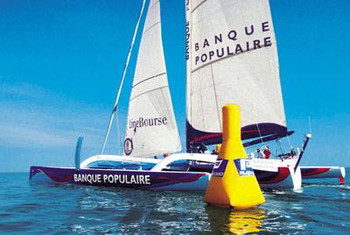 Plastimo Regatta Jumbo Marker Buoy - Height 3.2mx Base 2m