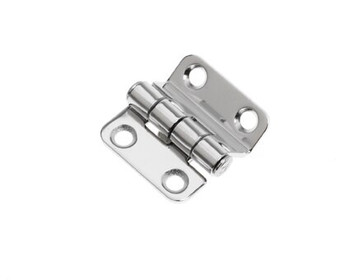Sowester Stepped Hinge - S/S - 38mm x 37mm - 20mm Step