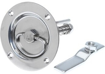 Roca Latch Lift Handle 100mm - Stainless 421860