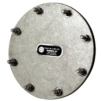 Seabuilt Fuel Tank Access Plate 10  Stainless Steel