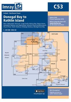 Imray C53 Donegal Bay to Rathlin Island