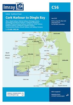 Imray C56 Cork to Dingle Chart