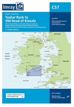 C57 Tuskar Rock to Old Head of Kinsale Chart