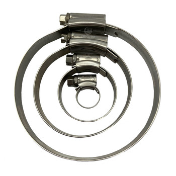 JCS Hose Clip - Stainless Steel - Group