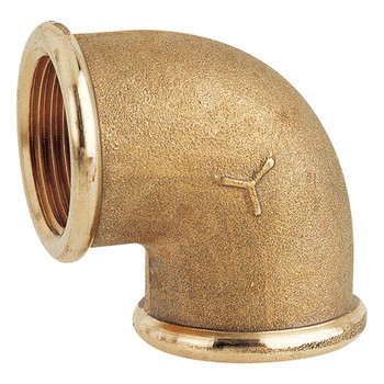 Maestrini CR Brass 90 Degree F/F Elbow