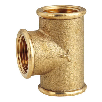 Maestrini CR Brass Tee Pipe - Select size from 1/2 - 3 inch BSP
