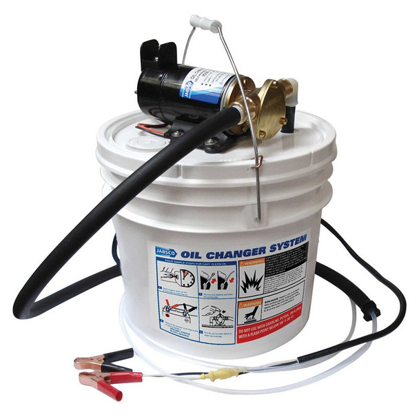 Jabsco Lubricating Oil Change Pump Kit - 24V (8A)