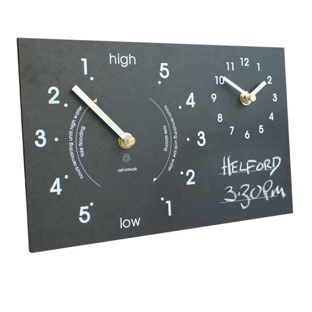 A Short Walk Tide / Time Clock - Chalk