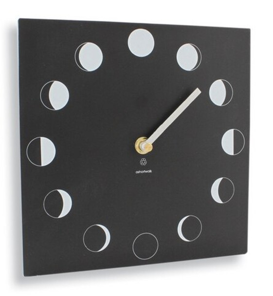A Short Walk Clock - Moon Phase