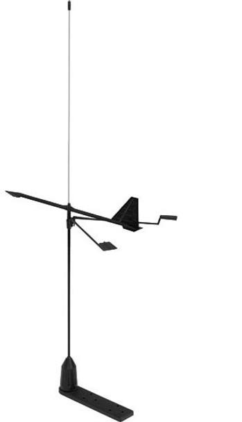 V-Tronix VHF Antenna w/ Hawk Wind Indicator - 0.9m