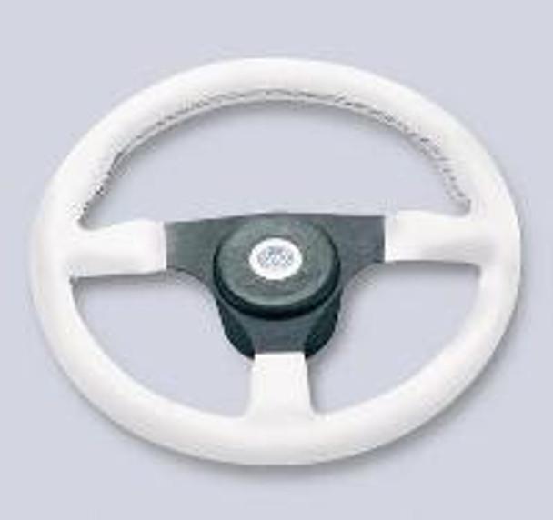 Nautic Steering Wheel V.R.35 - White 35cm Dia