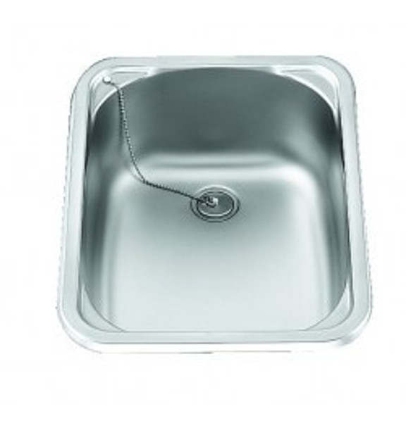 Dometic S/S Rectangular Sink - 280mm x 145mm x 380 mm