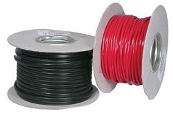 Marine Dual Core Tinned Electric Cabling - Black