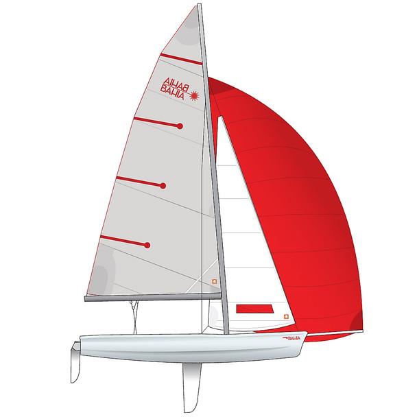 Laser Bahia Dinghy - Performance Rig