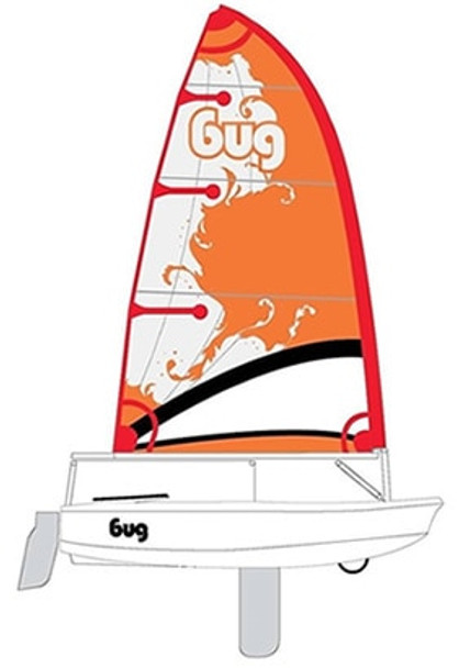 Laser Bug Sailboat - Race - Blaze