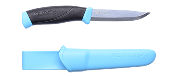Morakniv Companion Knife with Sheath - Blue