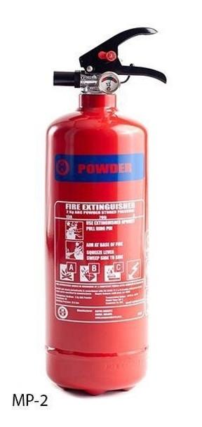 Moyne Roberts Fire Extinguisher - 2kg Powder M.E.D