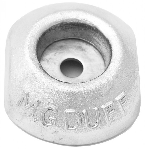 MG Duff Zinc Button Anode - ZD56 - 100mm