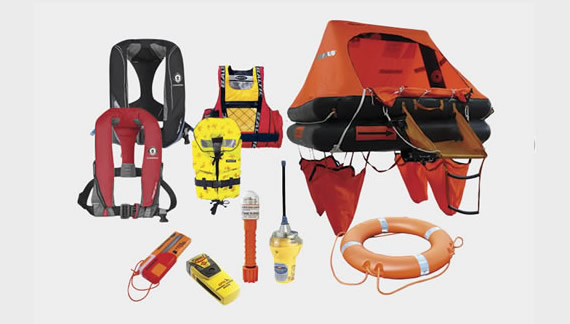 marine equipment - sea safety products