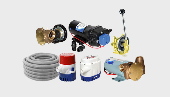 marine equipment - boat pumps