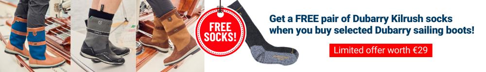 Dubarry sailing boots free socks offer