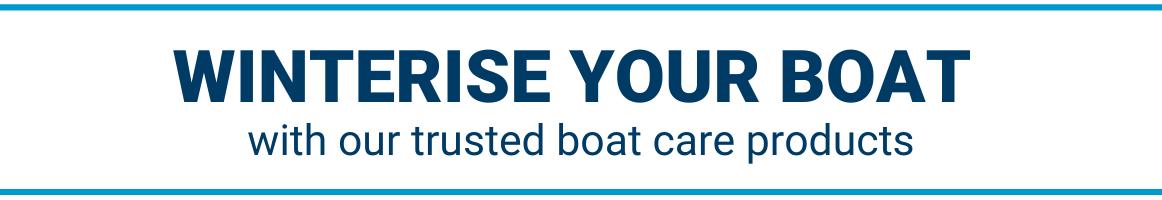 Winterise your boat
