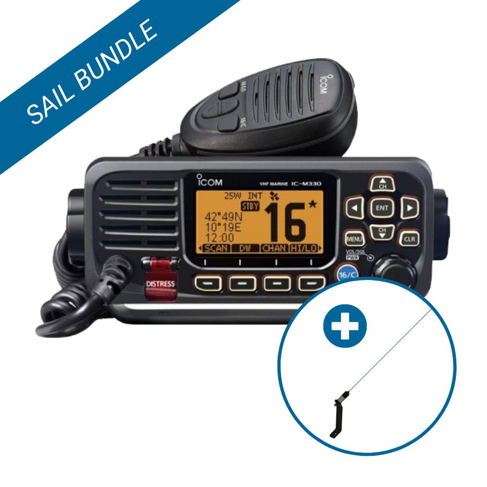 Icom VHF Antenna Bundle for Sailboats