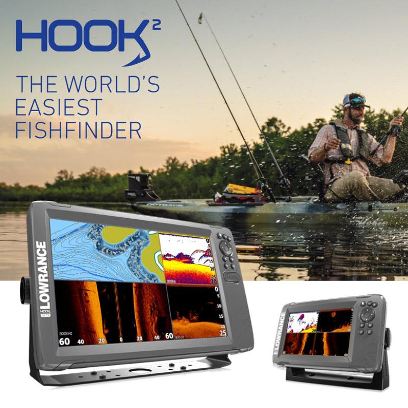 Lowrance Hook2 Fishfinder range
