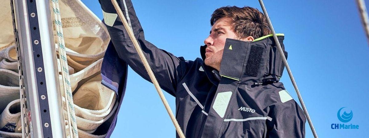Musto sailing wear Ireland