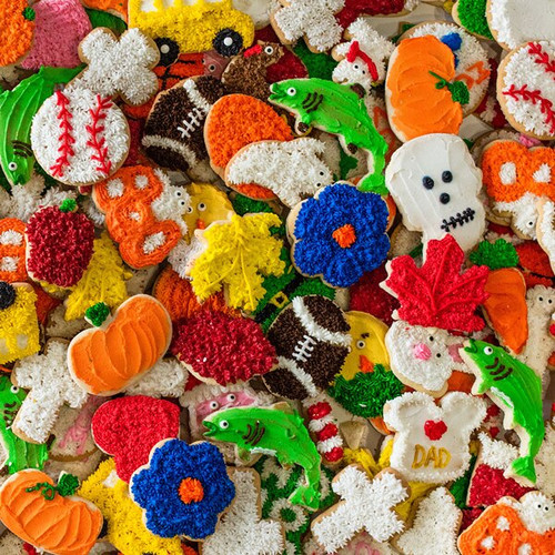 Image of a variety of cookies