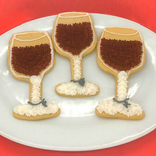 Wine Glass Cookies