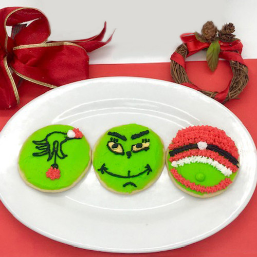 Holiday Grumpy Cookies