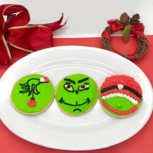 Holiday Grumpy Cookies
