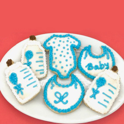 Boys Baby Shower Cookies
