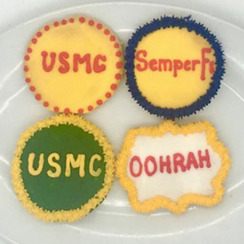 Marine Corps Cookies