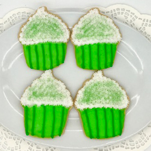 St. Patty's Cupcake Cookies