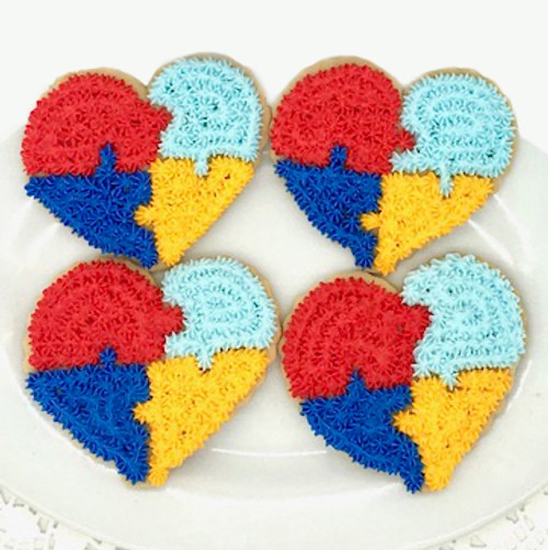 Autism Awareness Cookies
