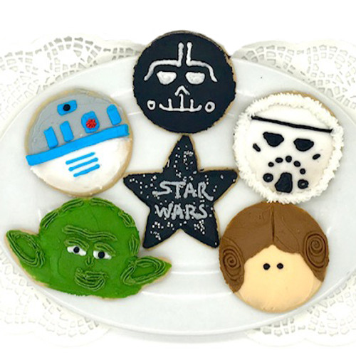 Space Heroes Mix Cookies