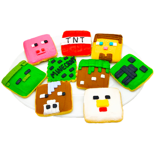 Videogame Character Cookies