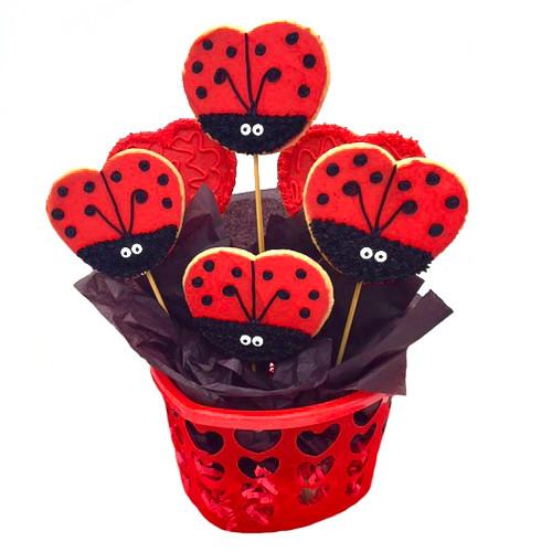 Ladybug Sticks