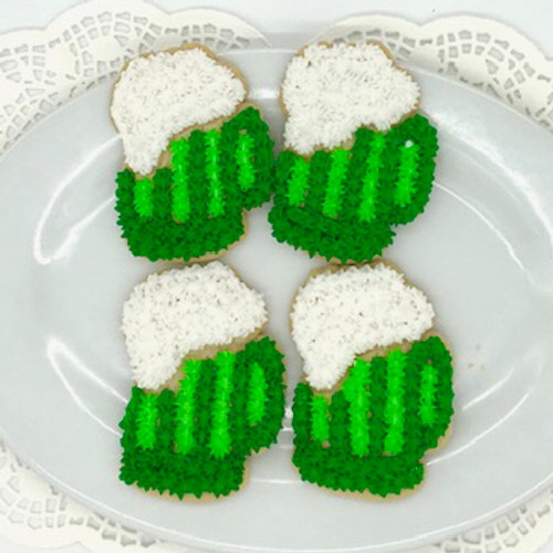 St. Patty's Day Beer Stein Cookies
