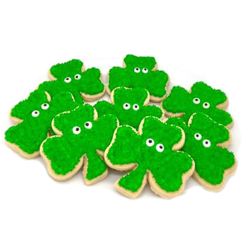 St. Patty's Clover Cookies