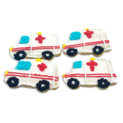 Ambulance Cookies