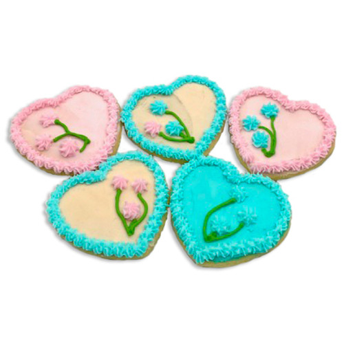 Mother Day Heart Cookies