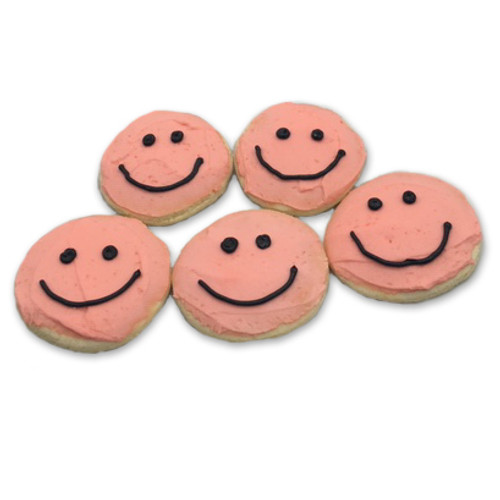 Gluten Free Smiley Face Cookies